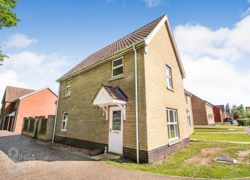 Thumbnail 3 bed semi-detached house for sale in Alicante Way, Norwich