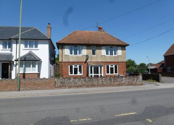 Thumbnail 4 bed detached house to rent in Netherhampton Road, West Harnham, Salisbury