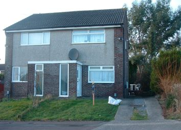Thumbnail 2 bedroom semi-detached house to rent in Rhodfa'r Dryw, Morriston