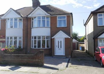 Thumbnail 3 bed semi-detached house for sale in Beverley Road, Ipswich, Suffolk