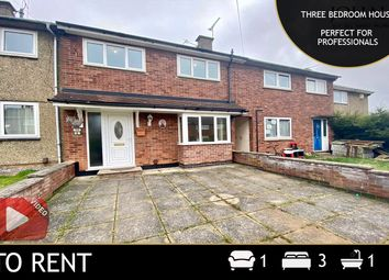 Thumbnail 3 bed link-detached house to rent in Shield Crescent, Leicester