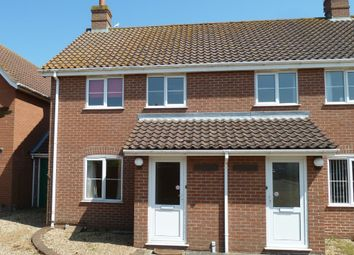 Thumbnail 3 bedroom semi-detached house to rent in Rose Lane, Diss, Norfolk