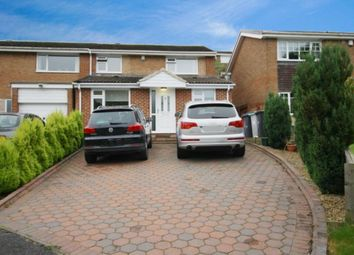 Thumbnail 3 bed semi-detached house for sale in Broadoak Drive, Lanchester, Durham
