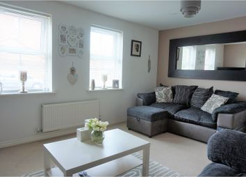 Thumbnail 2 bed flat for sale in Oak Crescent, Ashby-De-La-Zouch