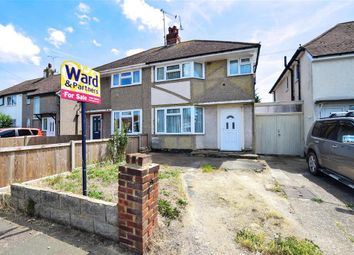 Thumbnail 3 bed semi-detached house for sale in Poplar Drive, Herne Bay, Kent
