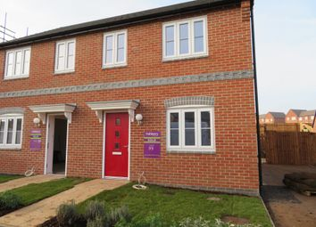 Thumbnail 3 bed semi-detached house to rent in Meadow Way, Tamworth