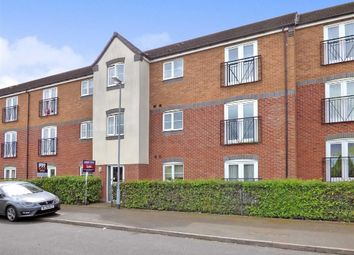 Thumbnail 2 bed flat for sale in Hobby Way, Cannock, Staffordshire