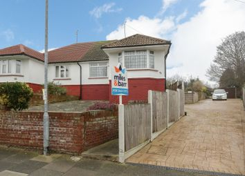 Thumbnail 2 bedroom semi-detached bungalow for sale in Carlton Avenue, Broadstairs