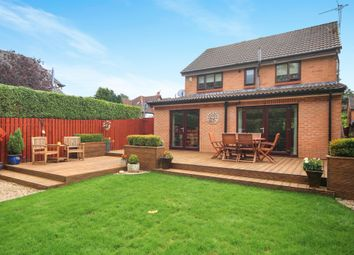 Thumbnail 4 bed detached house for sale in Broomieknowe Gardens, Burnside, Glasgow