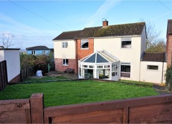 Thumbnail 3 bed link-detached house for sale in Monington Road, Glastonbury