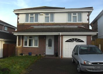 Thumbnail 4 bedroom detached house for sale in Cae Eithin, Llangyfelach, Swansea