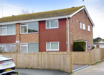 Thumbnail 2 bed flat for sale in Claigmar Road, Rustington, Littlehampton