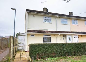 Thumbnail 2 bedroom end terrace house for sale in Bremhill Close, Swindon