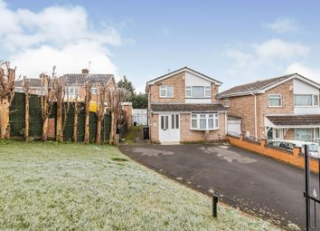 Thumbnail 3 bed detached house for sale in Tavistock Drive, Evington, Leicester
