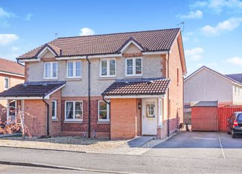 Thumbnail 3 bed semi-detached house for sale in Kennedy Way, Airth
