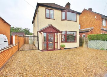 Thumbnail 3 bed detached house for sale in Dorothy Avenue, Thurmaston, Leicestershire