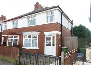 Thumbnail 3 bed terraced house to rent in Tennyson Road, Cleethorpes