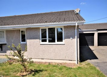 Thumbnail 2 bed semi-detached bungalow to rent in Edwards Road, St. Giles-On-The-Heath, Launceston, Devon