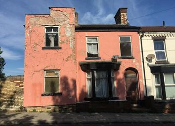 Thumbnail 3 bed end terrace house for sale in City Road, Walton, Liverpool