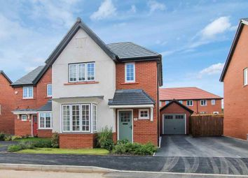 Thumbnail 3 bed detached house for sale in Higher Croft Drive, Crewe