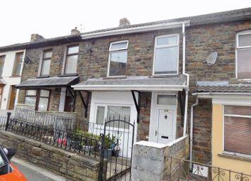 Thumbnail 3 bed terraced house for sale in Oakfield Terrace, Nantymoel, Bridgend.