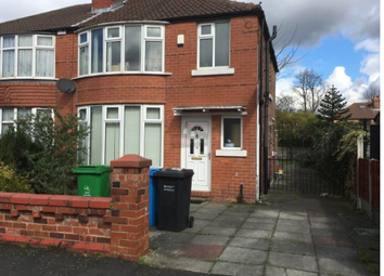 Thumbnail 4 bed semi-detached house to rent in Brentbridge Road, Manchester