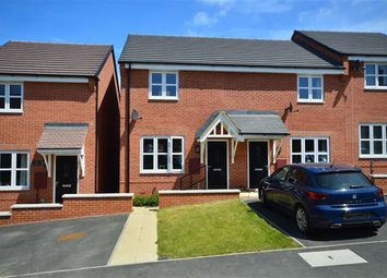 Thumbnail 2 bed end terrace house for sale in Glebe Road, Boughton, Northampton