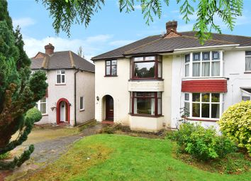 Thumbnail 3 bed semi-detached house for sale in Broomhill Road, West Dartford, Kent