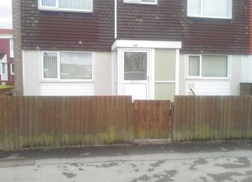 Thumbnail 4 bed end terrace house to rent in Yorklea Croft, Chelmsley Wood
