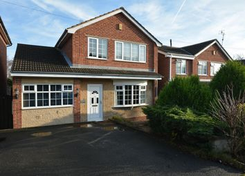 Thumbnail 3 bed detached house for sale in Handley Road, New Whittington, Chesterfield