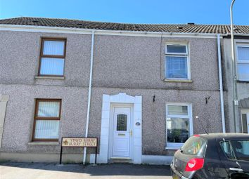 Thumbnail 2 bed terraced house for sale in Burry Street, Llanelli