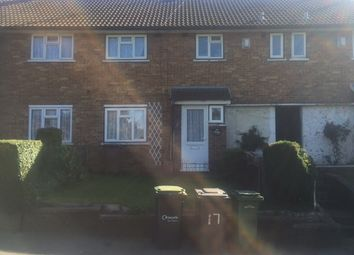 Thumbnail 3 bedroom terraced house to rent in Fermore Crescent, Luton