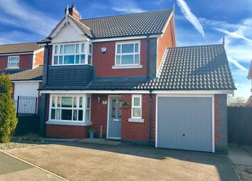 Thumbnail 3 bed detached house for sale in Kilberry Close, Hinckley