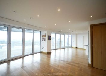 Thumbnail 3 bed flat for sale in Crossharbour Plaza, London