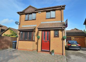 Thumbnail 3 bed detached house for sale in Hedgeway, East Hunsbury, Northampton