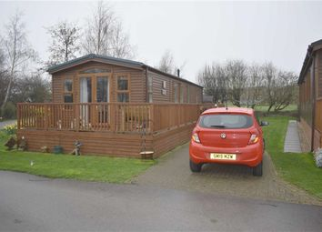 Thumbnail 2 bed mobile/park home for sale in Routh, Beverley