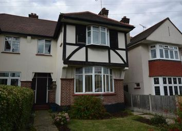 Thumbnail 4 bed semi-detached house for sale in Woodgrange Drive, Southend On Sea, Essex