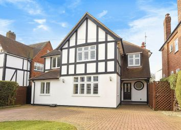 Thumbnail 4 bed detached house for sale in Delta Road, Worcester Park