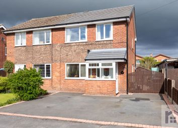 Thumbnail 3 bed semi-detached house for sale in Westfields, Croston