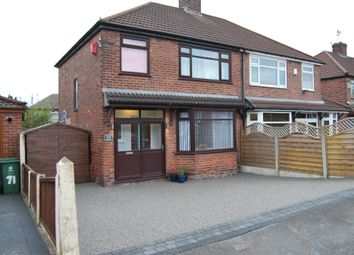Thumbnail 3 bed semi-detached house for sale in Mough Lane, Chadderton, Oldham