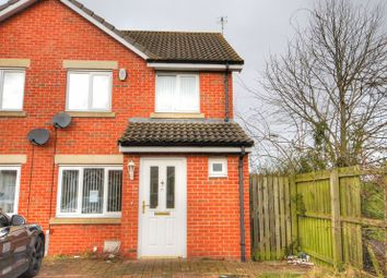Thumbnail 3 bed terraced house to rent in Chestnut Way, Widdrington, Morpeth