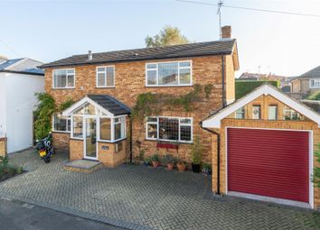 Thumbnail 4 bed detached house for sale in New Road, Weybridge, Surrey
