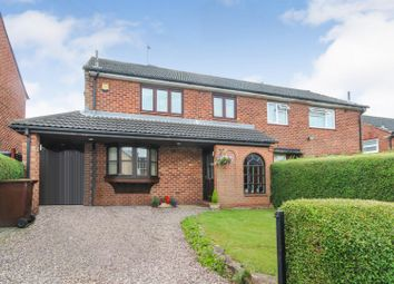 Thumbnail 3 bedroom semi-detached house for sale in Kilvington Road, Arnold, Nottingham