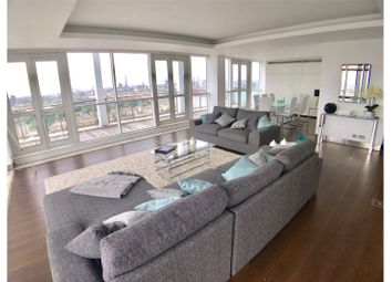 Thumbnail 3 bed flat to rent in Berkeley Tower, 48 Westferry Circus, London