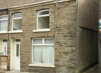 Thumbnail 3 bedroom end terrace house to rent in High Street, Ogmore Vale, Bridgend .