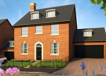 "Thumbnail 5 bed detached house for sale in ""The Knightly "" at Pitt Road, Winchester"