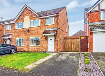 Thumbnail 3 bed semi-detached house for sale in Wimbledon Drive, Nuthall, Nottingham