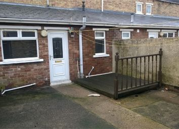 Thumbnail 2 bed terraced house to rent in Katherine Street, Ashington, Northumberland