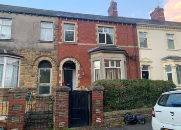 Thumbnail 4 bed terraced house for sale in Cardiff Road, Barry