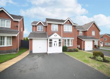 Thumbnail 4 bed detached house for sale in Woodside Road, Ketley, Telford